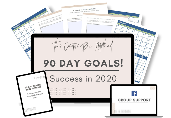 90 day goals for 2020