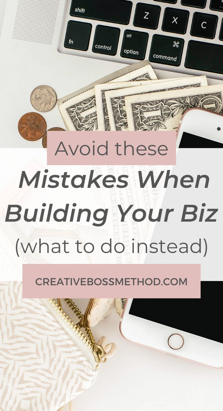 4 mistakes to avoid when building your business