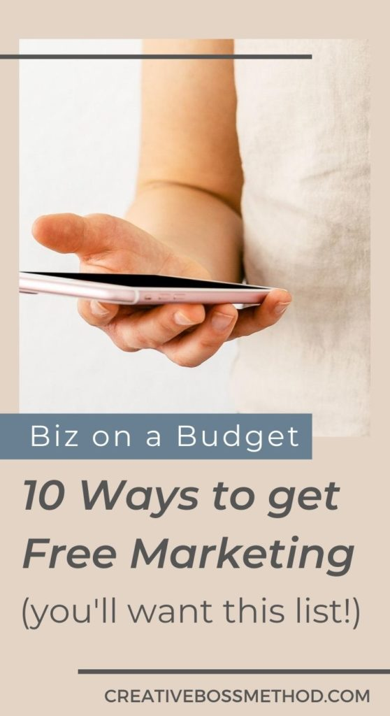 10 ways to get free marketing if your business is on a budget